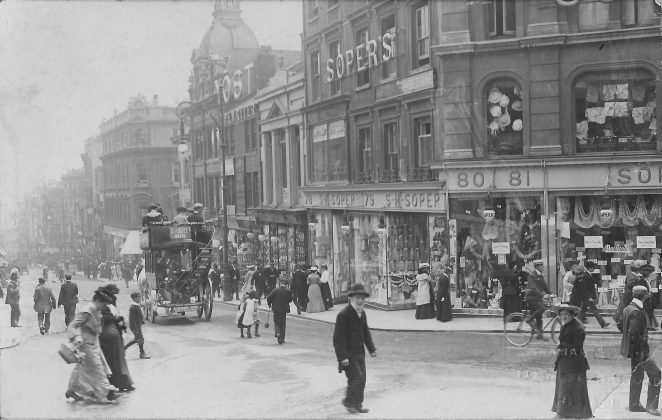 Soper's North Street Brighton c. 1890 | From the private collection of Derek Green