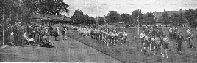 Summer Sports Day | From the Education Week booklet owned by Peter Groves