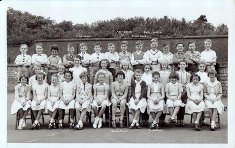 Class photograph mid 1950s