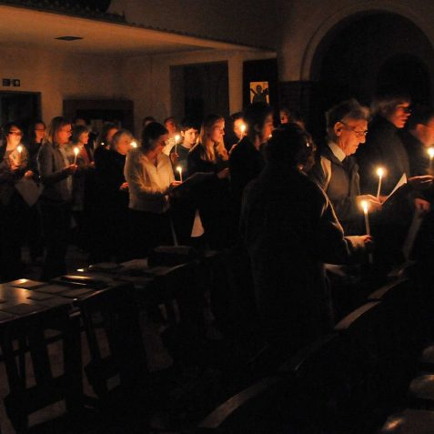 Brighton University Carol Service at St Andrew's Moulsecoomb | Photo by Tony Mould
