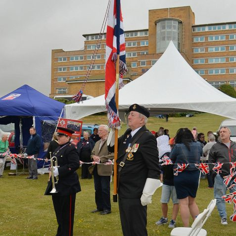 Armed Forces Day at Blind Veterans UK:©Tony Mould