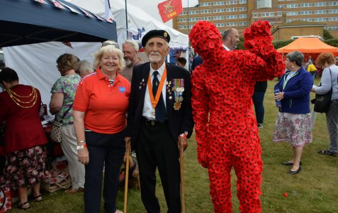 Armed Forces Day at Blind Veterans UK