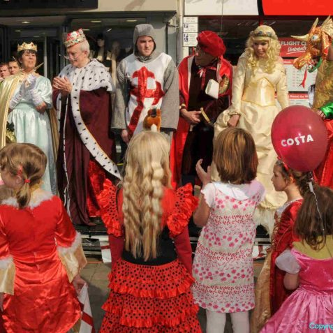St George's Day celebrations | Photo by Tony Mould