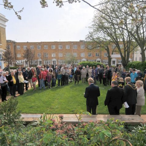 Launch of St George's Community Garden | Photo by Tony Mould