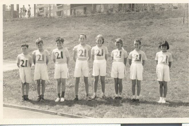 Athletic team | From the personal collection of Elizabeth Stanbury