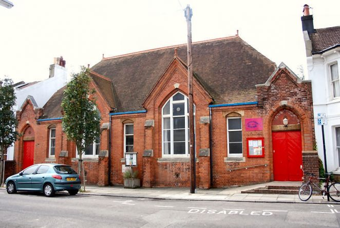St Luke's Church Hall: Exeter Street | Photo by Tony Mould