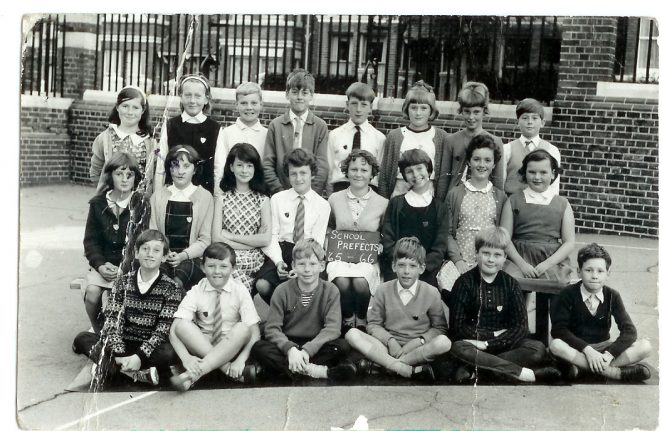 Prefects 1965-1966 | From the private collection of Christina Mitchell (Nee Laycock)