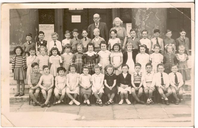 Class photograph 1953/54 | By Diane Hughes nee Stefani