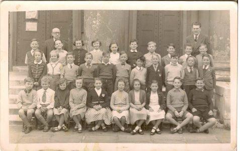 Class photograph c1956/57
