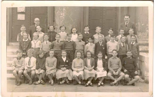 Class photograph c1956/57 | From the private collection of Diane Hughes nee Stefani