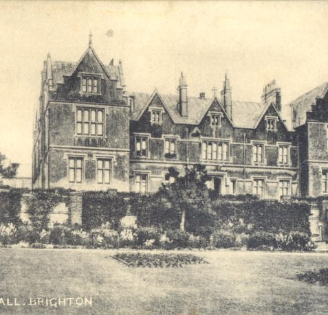 St Mary's Hall School, Pre 1918. | From the private collection of Tony Drury
