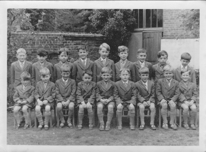 Class photo c 1957: click image to open a larger version in a new window | From the private collection of John Potter