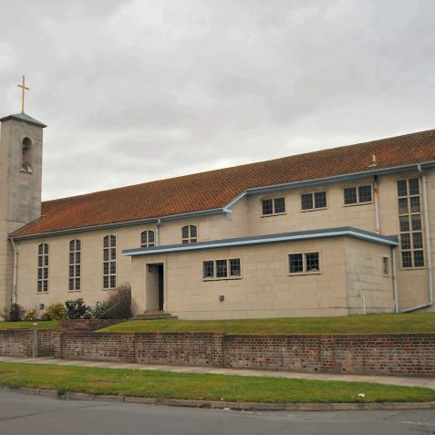Parish church of St Nicholas, Saltdean | Photo by Tony Mould: click on image to open a large version in a new window