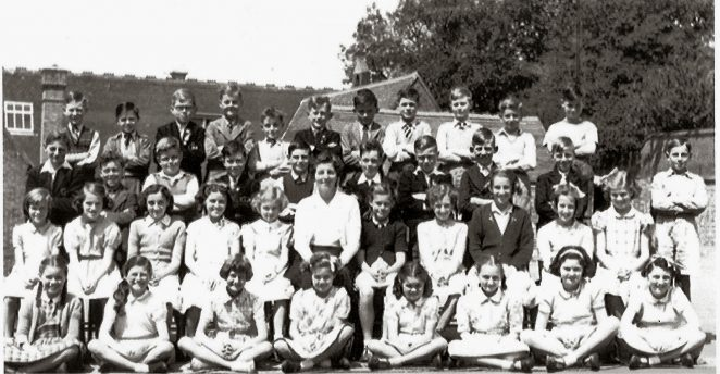 Class 3A St Nicholas School c1954 | From the private collection of Veronica Bentley