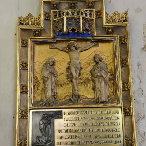 Memorial to Revd Arthur Wagner