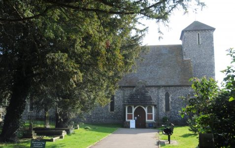 St Peter's Preston Park: Medieval wall paintings at risk