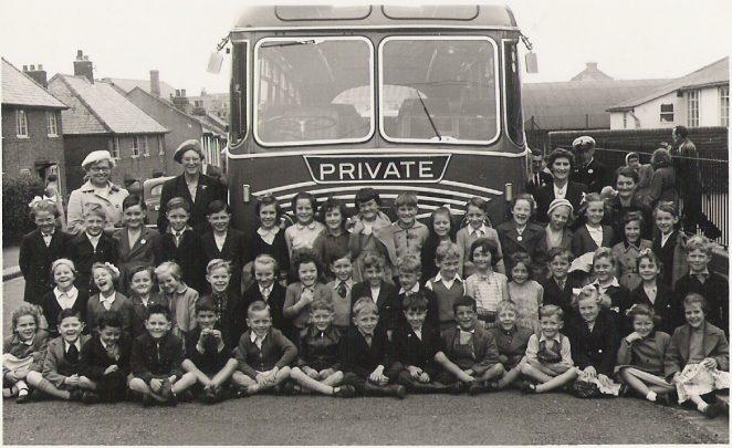 1956 school coach trip
