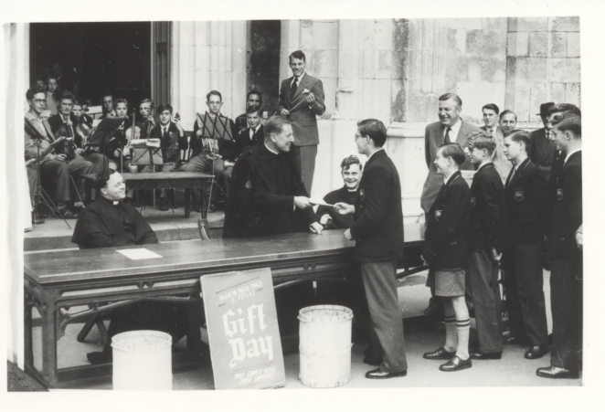 Fawcett School prefects 'Gift Day' | From the private collection of Malcolm Staley