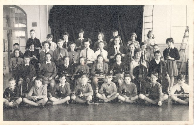 Stanford Road Junior School - Orchestra | From the private collection of Sue Loveridge
