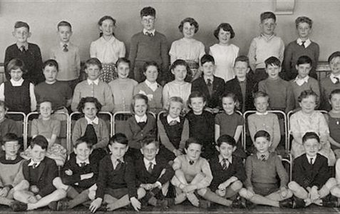 Mr Smither's class 1957
