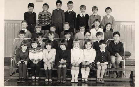 Class photograph c1966