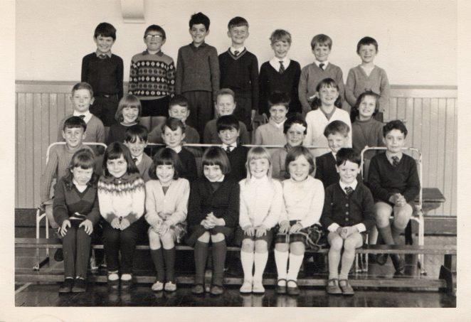 Class photo c1966; click for a larger version | From the private collection of Phil Booth