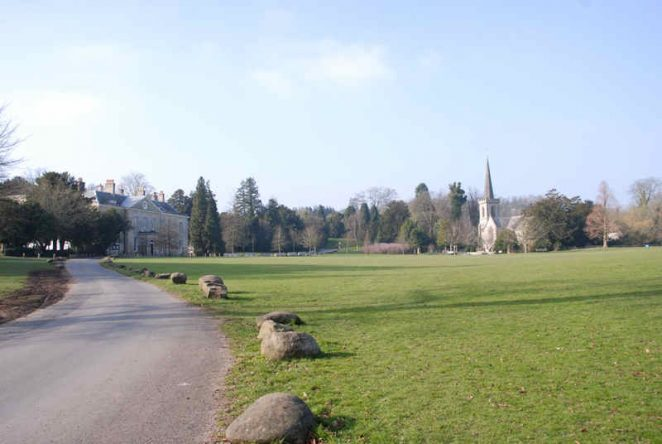 A view across Stanmer Park   Photo by Tony Mould