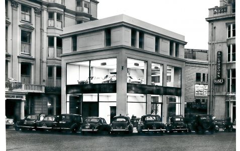 Motor car showrooms built 1926