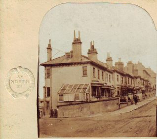Where is this street in 1860s Brighton?