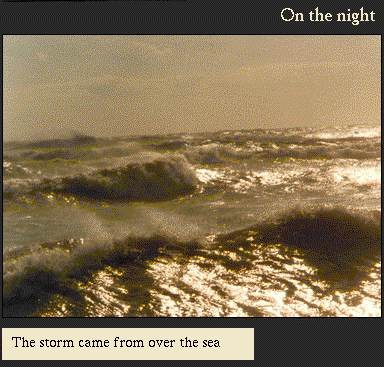 The storm came over the sea | Image from the 'My Brighton' exhibit