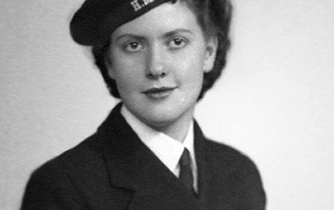 WRNS (T) Barbara Sugden, HMS Vernon