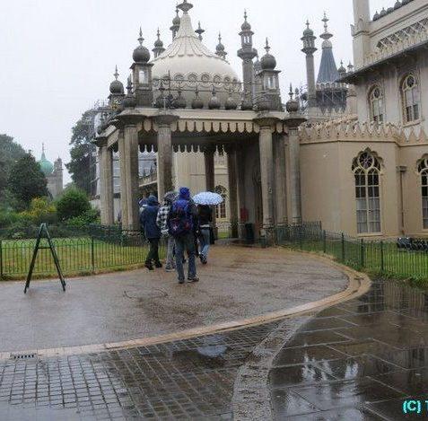 A dry visit to the Pavilion seems like a good idea | Photo by Tony Mould