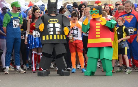 Super Heroes run for Pass it on Africa
