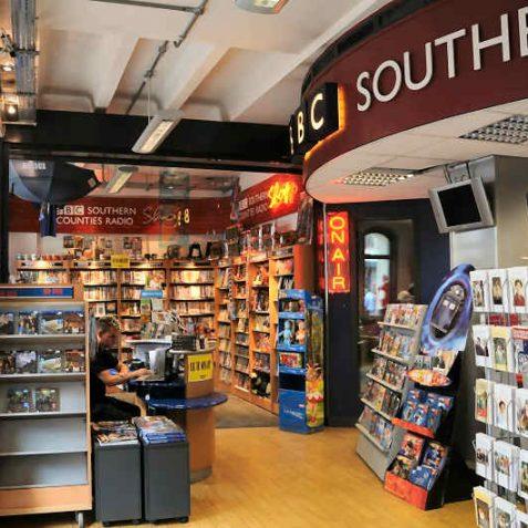 The BBC shop - a treasure trove   Photo by Tony Mould