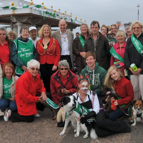 Sussex Pet Rescue fundraising walk | Photo by Tony Mould