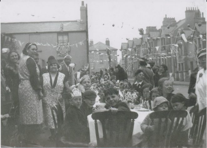 Sussex Terrace Street Party Kings CoronationMay 1937 | From the private collection of Joy Panteli(nee Smith)