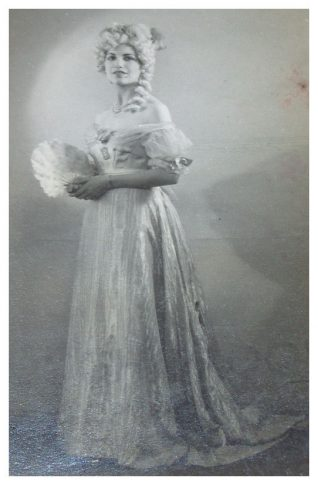 Sylvia Ransom as Amelia in 'The Grand Duchess' | From the private collection of Sandra Bohtlingk