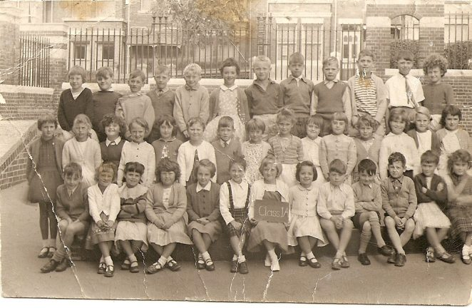 St Luke's School class photo | From the private collection of Rodney Chamberlain
