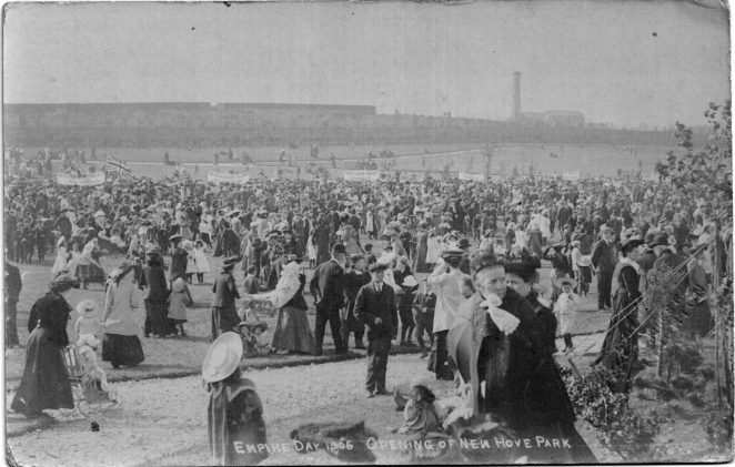 Empire Day 1906: the opening of the new Hove Park | From the private collection of Gordon Muggeridge