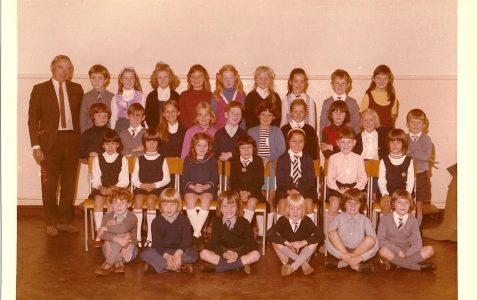 Class at Lourdes Convent circa 1974/5