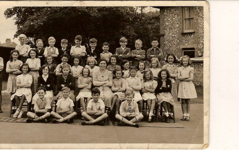 Class photos circa 1951-54