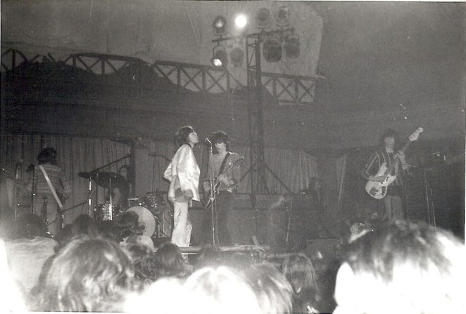 Rolling Stone concert 1971 | From the private collection of Diane Lambing