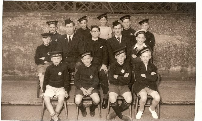 Portslade Baptist Church Life Boys group | From the private collection of Jim Duncan