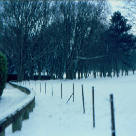 A mid 1980s wintery scene | Photo by K W Barrington