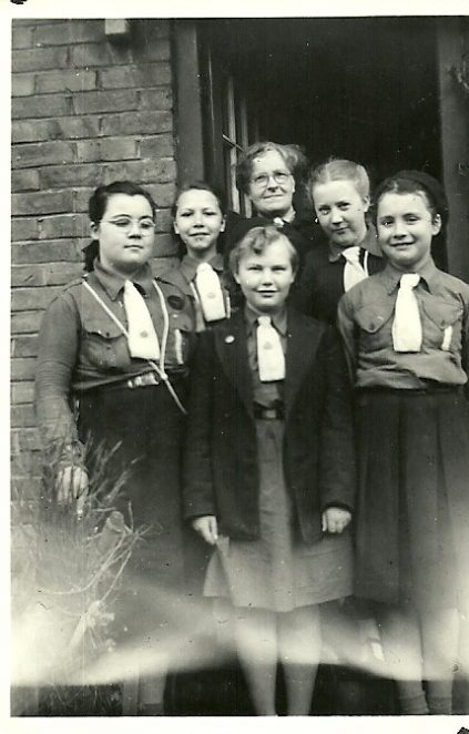 St Joheph's Girl Guides | From the private collection of Kathy Nichols