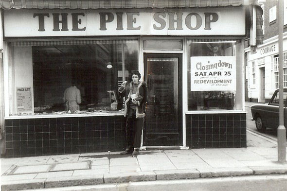 The Pie Shop, St James's Street. | Photo by Diana Lambing