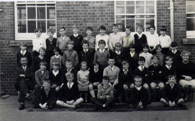 St Marks School, Class 4 1967. | From the private collection of Sally Huxham
