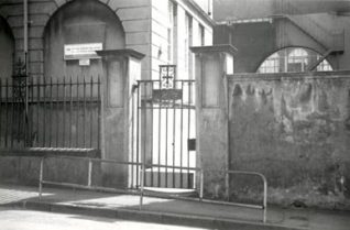 School entrance   Roger Bateman