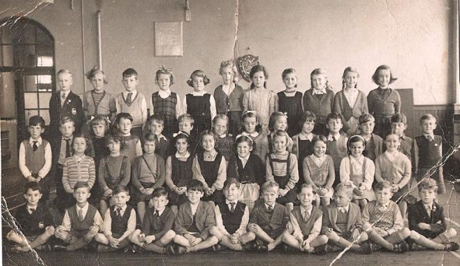 Stanford Road Juniors c1953 | From the private collection of Valerie Manchee nee Rodda