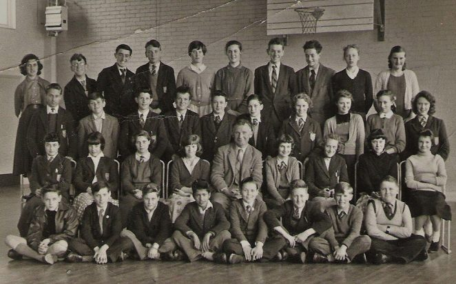 Class 3a Fitzherbert School 1956 | From the private collection of Vera Wakefield (nee Bridger)